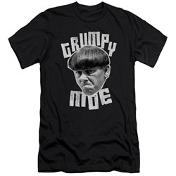 Three Stooges - Mens Grumpy Moe Premium Slim Fit T-Shirt