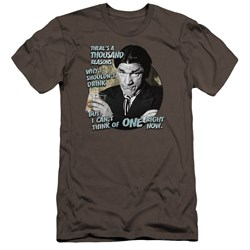 Three Stooges - Mens Drink Premium Slim Fit T-Shirt