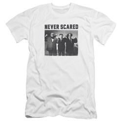 Three Stooges - Mens Never Scared Premium Slim Fit T-Shirt