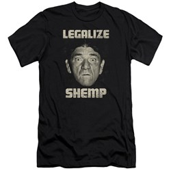 Three Stooges - Mens Legalize Shemp Premium Slim Fit T-Shirt