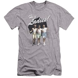 Three Stooges - Mens Hey Ladies Premium Slim Fit T-Shirt