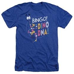 Jurassic Park - Mens Bingo Dino Dna Heather T-Shirt