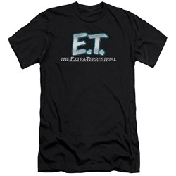 Et - Mens Logo Premium Slim Fit T-Shirt