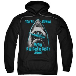 Jaws - Mens Boat In Mouth Pullover Hoodie