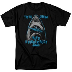 Jaws - Mens Boat In Mouth T-Shirt