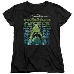 Jaws - Womens Da Dum T-Shirt