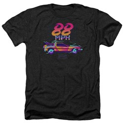 Back To The Future - Mens 88 Mph Heather T-Shirt
