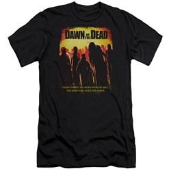 Dawn Of The Dead - Mens Title Premium Slim Fit T-Shirt