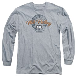 Back To The Future - Mens Hill Valley Long Sleeve T-Shirt