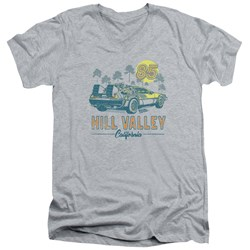 Back To The Future - Mens 85 V-Neck T-Shirt