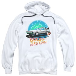 Back To The Future - Mens Bttf Airbrush Pullover Hoodie