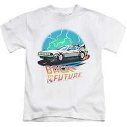 Back To The Future - Youth Bttf Airbrush T-Shirt