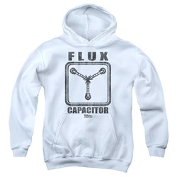 Back To The Future - Youth Flux Capacitor Pullover Hoodie