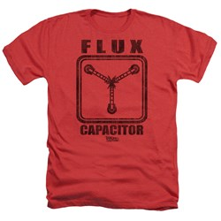 Back To The Future - Mens Flux Capacitor Heather T-Shirt
