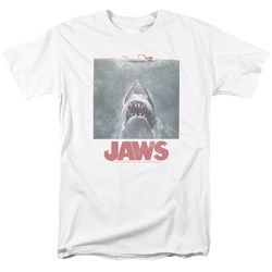 Jaws - Mens Distressed Jaws T-Shirt