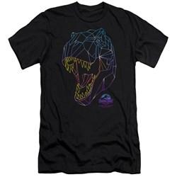 Jurassic Park - Mens Neon T-Rex Slim Fit T-Shirt