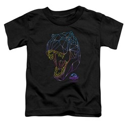 Jurassic Park - Toddlers Neon T-Rex T-Shirt