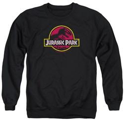 Jurassic Park - Mens 8-Bit Logo Sweater