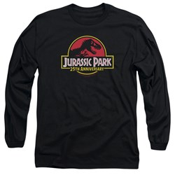 Jurassic Park - Mens 25Th Anniversary Logo Long Sleeve T-Shirt