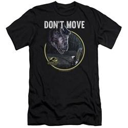 Jurassic Park - Mens Dont Move Premium Slim Fit T-Shirt