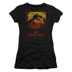 Jurassic Park - Juniors Welcome To Jp T-Shirt