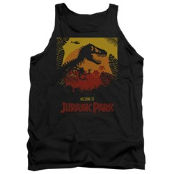 Jurassic Park - Mens Welcome To Jp Tank Top