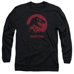 Jurassic Park - Mens T-Rex Sphere Long Sleeve T-Shirt
