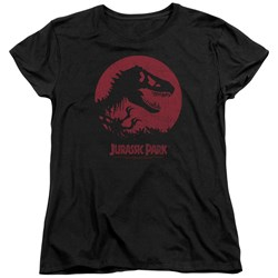 Jurassic Park - Womens T-Rex Sphere T-Shirt