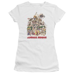 Animal House - Juniors Poster Art Premium Bella T-Shirt