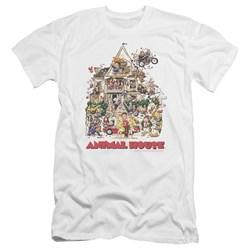 Animal House - Mens Poster Art Premium Slim Fit T-Shirt