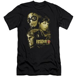 Hellboy Ii - Mens Ungodly Creatures Premium Slim Fit T-Shirt
