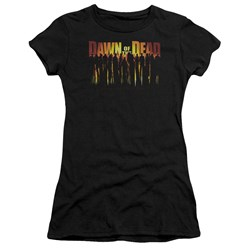 Dawn Of The Dead - Juniors Walking Dead Premium Bella T-Shirt