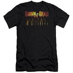 Dawn Of The Dead - Mens Walking Dead Premium Slim Fit T-Shirt