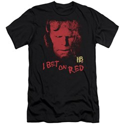 Hellboy Ii - Mens I Bet On Red Premium Slim Fit T-Shirt