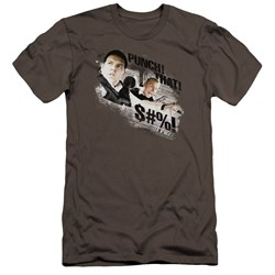 Hot Fuzz - Mens Punch That Premium Slim Fit T-Shirt