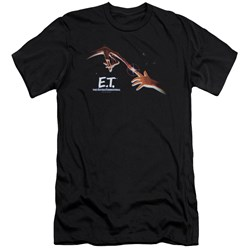 Et - Mens Poster Premium Slim Fit T-Shirt
