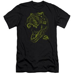 Jurassic Park - Mens Rex Mount Premium Slim Fit T-Shirt