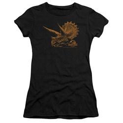 Jurassic Park - Juniors Tri Mount Premium Bella T-Shirt