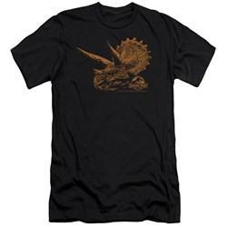 Jurassic Park - Mens Tri Mount Premium Slim Fit T-Shirt
