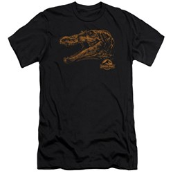 Jurassic Park - Mens Spino Mount Premium Slim Fit T-Shirt