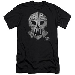 Slap Shot - Mens Goalie Mask Premium Slim Fit T-Shirt