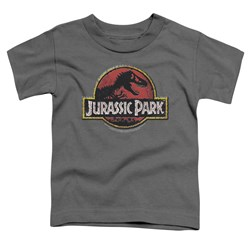 Jurassic Park - Toddlers Stone Logo T-Shirt