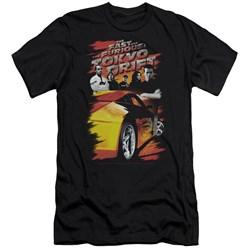 Tokyo Drift - Mens Drifting Crew Premium Slim Fit T-Shirt