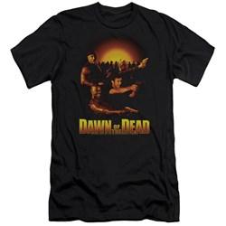 Dawn Of The Dead - Mens Dawn Collage Premium Slim Fit T-Shirt
