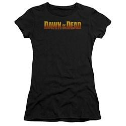 Dawn Of The Dead - Juniors Dawn Logo Premium Bella T-Shirt