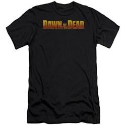 Dawn Of The Dead - Mens Dawn Logo Premium Slim Fit T-Shirt