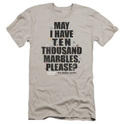 Animal House - Mens Marbles Premium Slim Fit T-Shirt