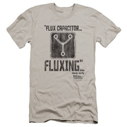 Back To The Future - Mens Fluxing Premium Slim Fit T-Shirt