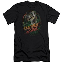 Jurassic Park - Mens Clever Girl Premium Slim Fit T-Shirt