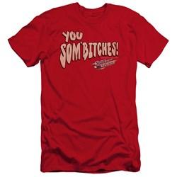Smokey And The Bandit - Mens Sombitch Premium Slim Fit T-Shirt